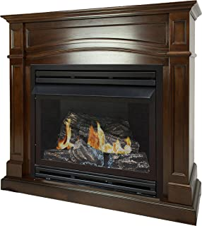 Best gas log vent free fireplace Reviews