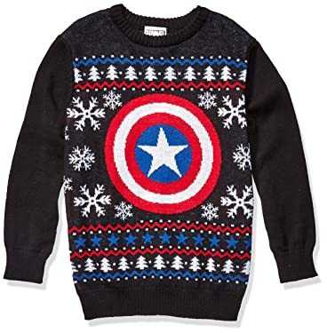 Marvel Boys' Ugly Christmas Sweater