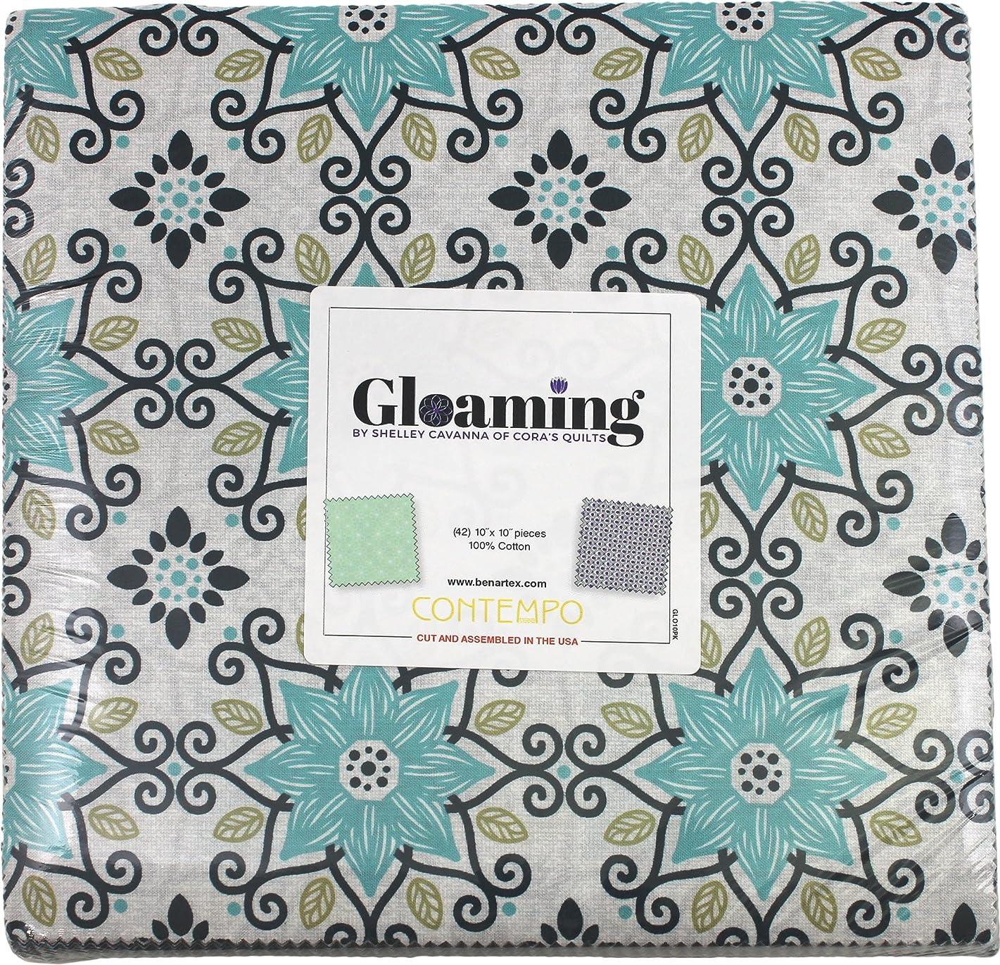Shelley Cavanna Gloaming 10X10 Pack 42 10-inch Squares Layer Cake Benartex