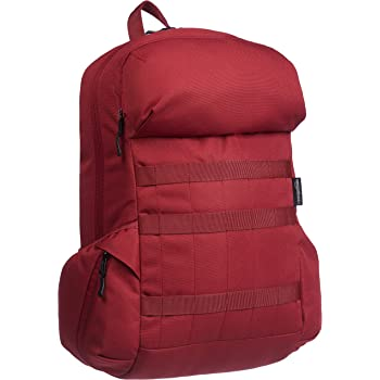 AmazonBasics Canvas Laptop Backpack Bag for up to 15 Inch Laptops - Deep Red