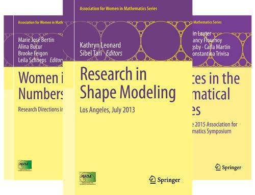 Association for Women in Mathematics (23 Book Series)