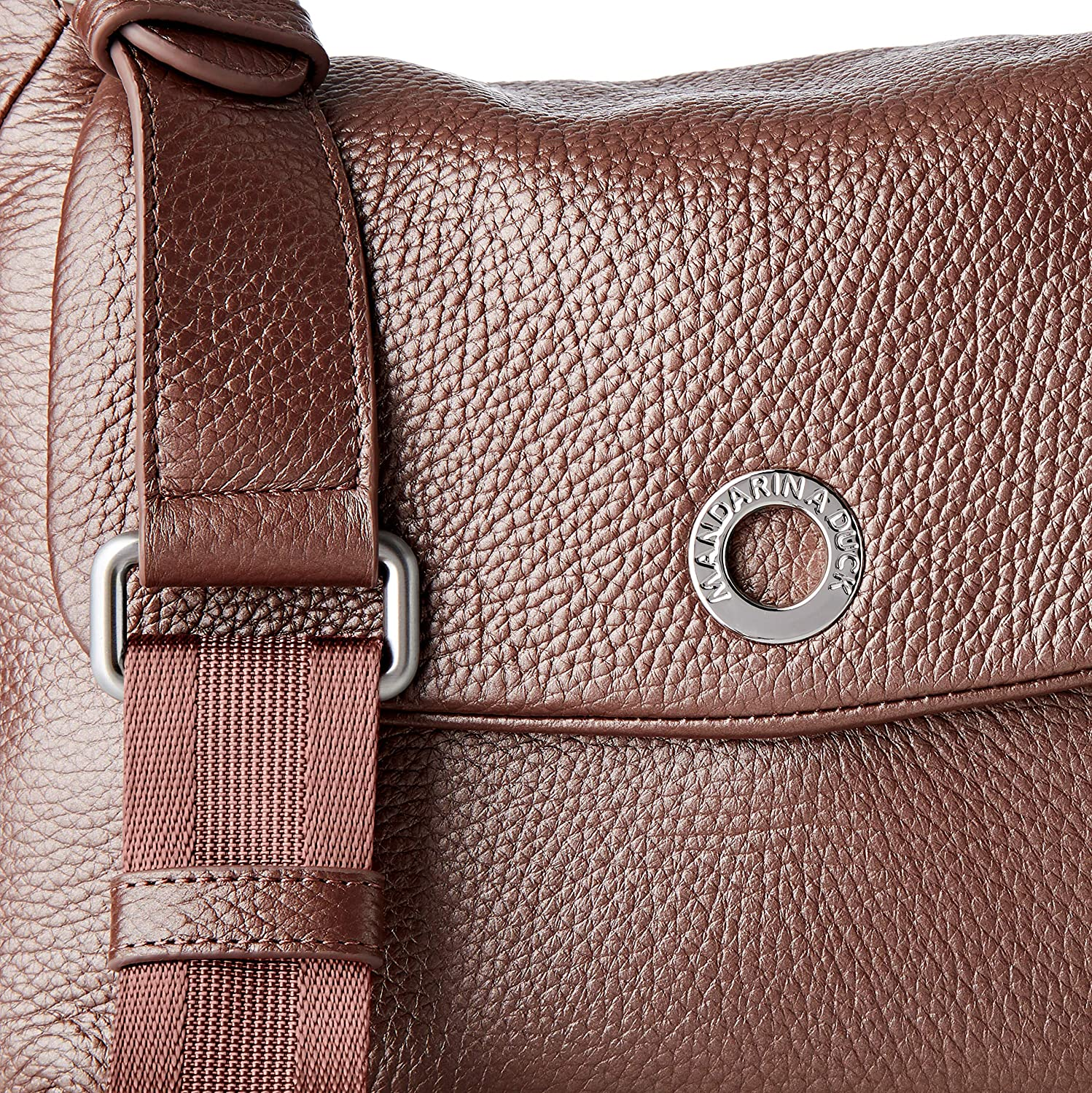 Mandarina Duck Mellow Lux, Sac à Main Femme, Taille Unique Blackberry Syrup