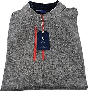 1857 Double Layer Half Zip Jersey Golf Sweater