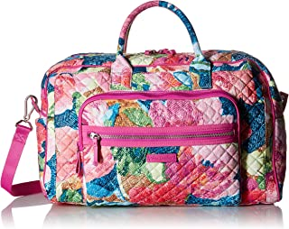 Women's Signature Cotton Compact Weekender Travel Bag