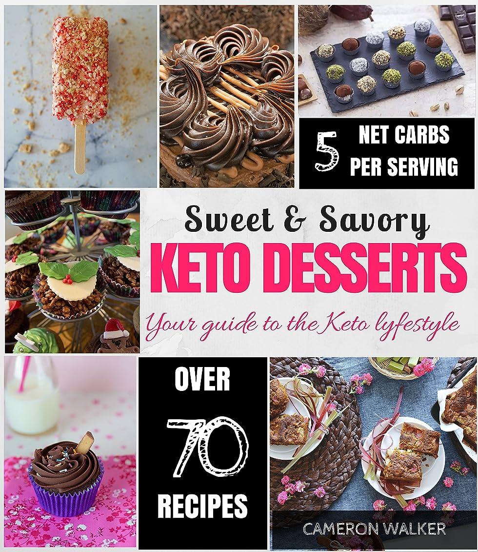 KETO DESSERTS: KETO DESSERT RECIPES COOKBOOK, KETO ELECTRIC PRESSURE COOKER COOKBOOK (Keto for beginners) (English Edition)