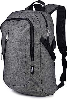 Laptop Travel Backpack - Adjustable Shoulder Straps, Zippered Compartments with Side Pockets for Water Bottle or Umbrella....