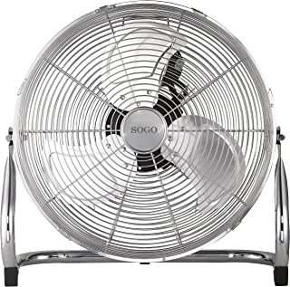 Sogo Ventilador Industrial Power fan de 110W, Diametro hélice de 18