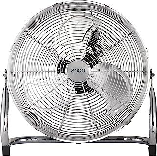 Sogo Ventilador Industrial Power fan de 110W, Diametro hélice de 18