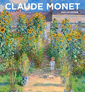Claude Monet 2022 Wall Calendar