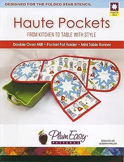 PlumEasy Patterns Haute Pockets Oven Mitt Ptrn