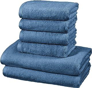 AmazonBasics - Juego de 6 toallas de secado rápido, 2