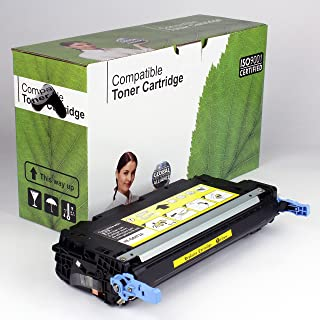 Value Brand replacement for HP 502A Q6472A Yellow Toner Cartridge For Your Business (4,000 Yield)