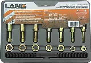 Lang Tools 2584 15-Piece Metric Thread Restorer Set