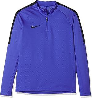 Nike Y NK SQD Dril Top Tee for Man, Blue (Paramount Blue/Black/Black), M