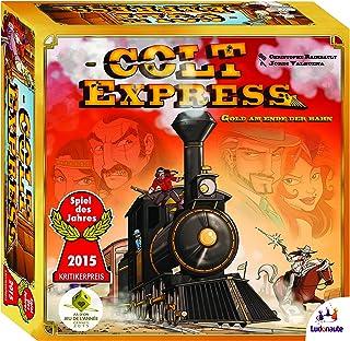 Asmodee Colt Express - Grundspiel, Spiel des Jahres 2015, Familienspiel, Deutsch