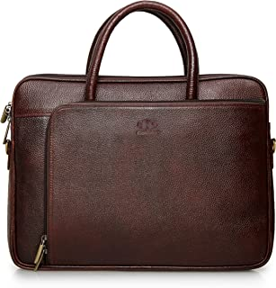 The Clownfish Dual Tone 15.6 inch Tablet Bag and Laptop Bag (Maroon and Black)