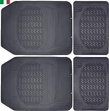 54/x 54/cm de Goma CENNI 81867/Alfombra Antideslizante para Ducha Made in Italy Azul