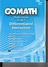 Go Math! Differentiated Instruction Resource Grade 7