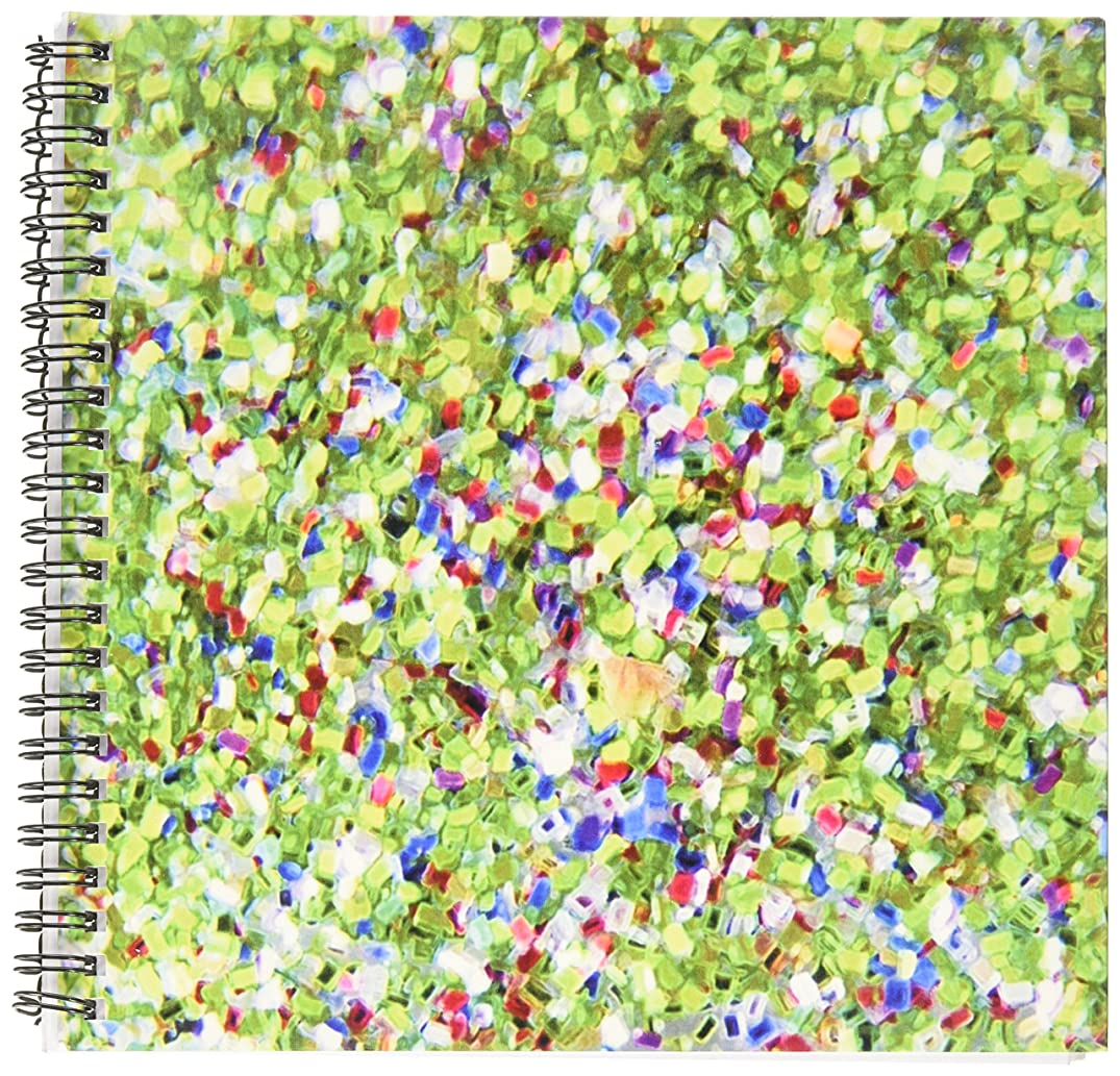 3dRose db_31163_1 Sparkle Mix Like-Drawing Book, 8 by 8-Inch