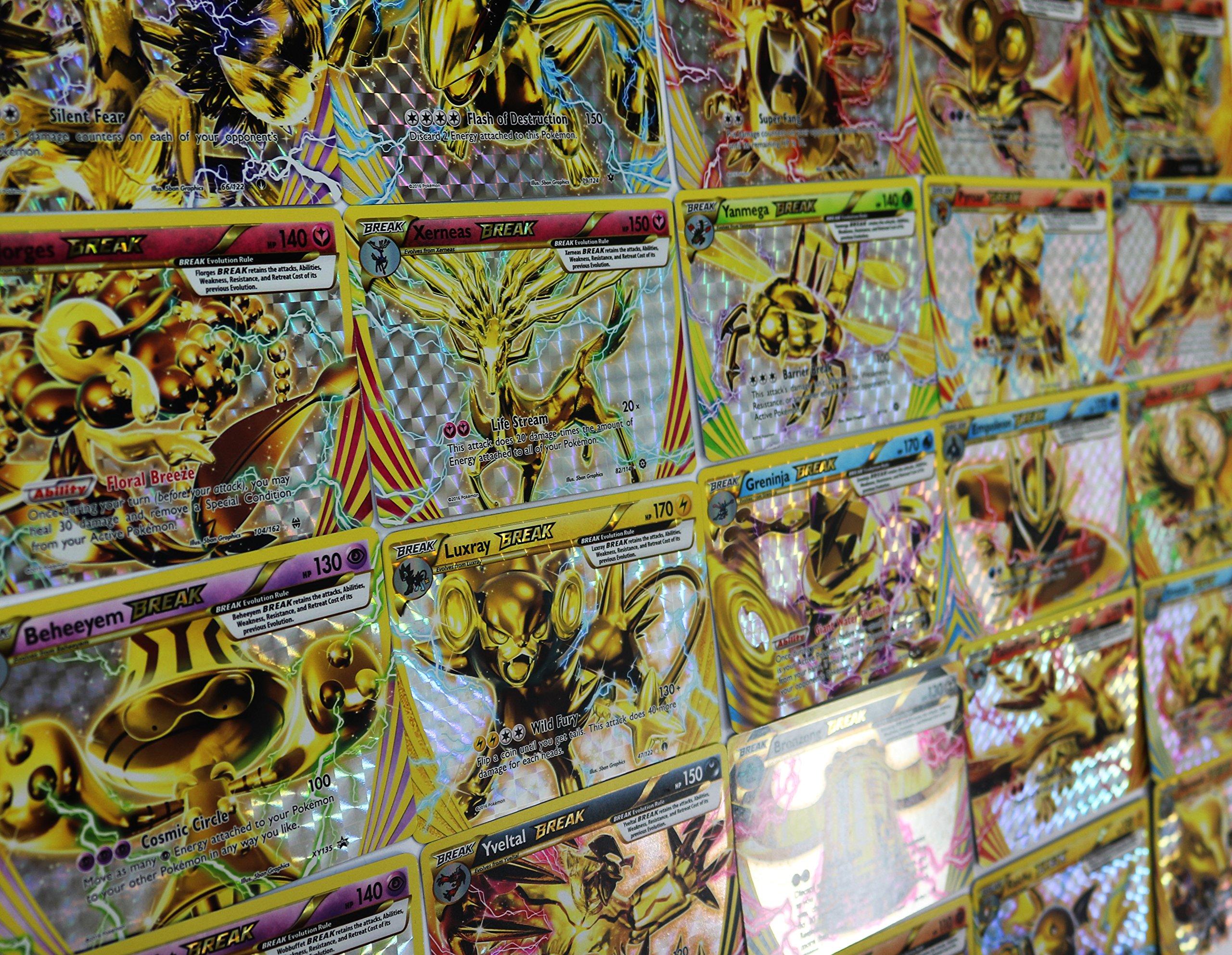 5 Pokemon Break Cards Lot