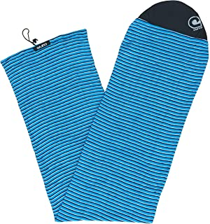 "Stretch Surfboard/Longboard Sock Cover - Round Nose Size 6`10 to 9`6 - up to 22"" Wide [Choose Color]"