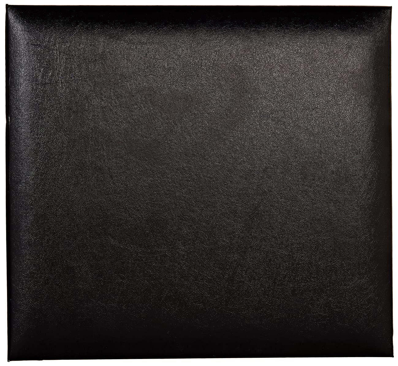 Pioneer Leatherette Post Bound Album, 8 by 8-Inch, Black