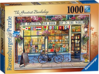 Ravensburger - The Greatest Bookshop 1000 Piece Jigsaw Puzzle for Adults & for Kids Age 12 and Up