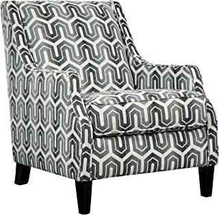 Ashley Furniture Signature Design - Gilmer Upholstered Accent Chair - Contemporary - Gunmetal
