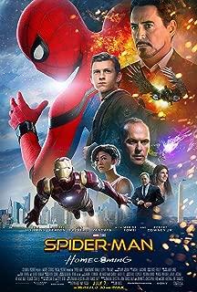 Spider-Man HomecomingMovie Poster Limited Print Photo Tom Holland, Michael Keaton, Robert Downey Jr. Size 11x17 #1