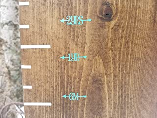 Pretty Little Heart Arrows ~ Height Marking Arrows for Growth Charts