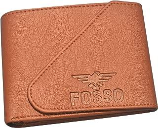 Fosso® Men Tan Artificial Leather Wallet A+