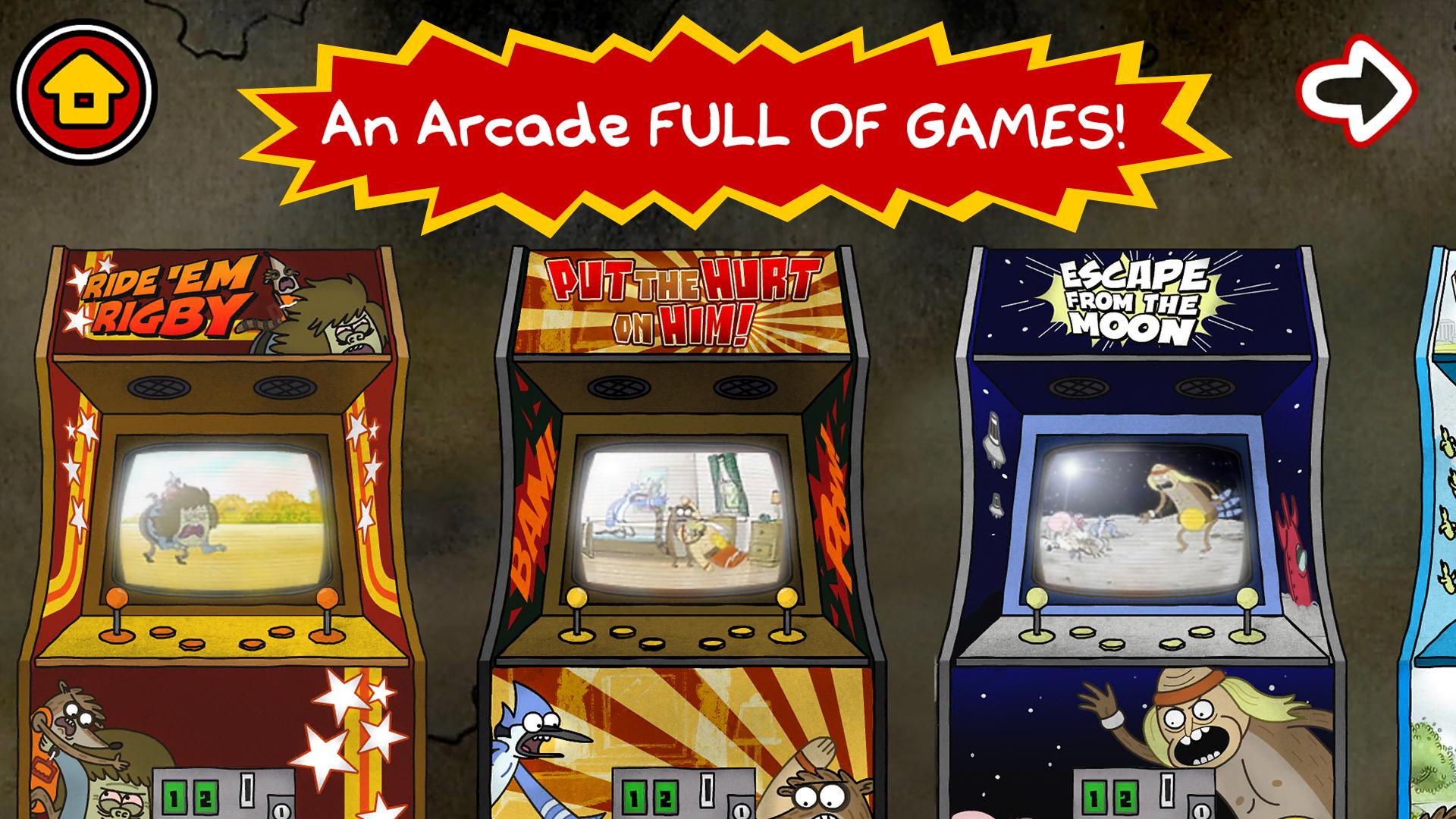 Just A Regular Arcade - Regular Show