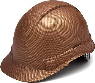 Pyramex Ridgeline Cap Style Hard Hat, 4-Point Ratchet Suspension, Copper Pattern