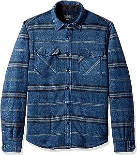 Men's Flannel Long Sleeve Woven Casual Button Down Shirt
