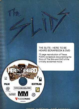 The Slits - Here To Be Heard - News Cuttings and Scraps (Scrapbook and DVD)