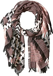 French Connection Women's Dona Patterned Scarf