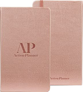 90 Day Action Planner Daily, Weekly, Monthly Undated Calendar Goal Planning - Increases Productivity & Time Management with Vision Board & to Do List - Life Coaching & Corporate Gifts