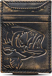 Best mens wallet with money clip on outside Reviews