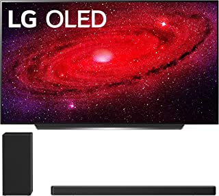 """LG OLED77CXP 77"""" Ultra High Definition HDR Smart Self Lighting OLED TV with a LG SN6Y 3.1 Channel DTS Virtual High Resolution Soundbar and Subwoofer (2020)"""