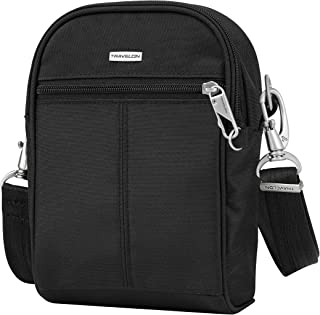 travelon anti theft classic small black convertible backpack