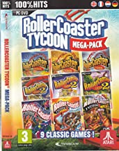 Rollercoaster Tycoon 9 Game Megapack (PC DVD)