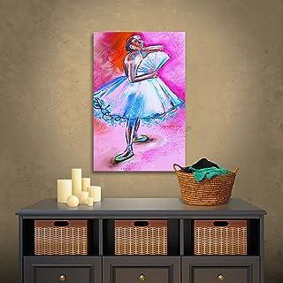 アートウォール 「ドゥガスのバレリーナの解釈」 スーシ・フランコ ギャラリー作 キャンバスアートワーク 36 by 24-Inch 0fra070a2436w