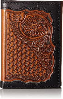 Ariat Men's Floral Basket Tool Trifold