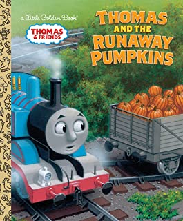 Thomas and the Runaway Pumpkins (Thomas & Friends) (Little Golden Book)