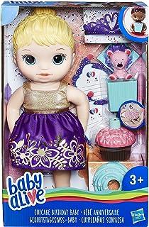 Baby Alive- Cumpleaños Sorpresa Rubia (Hasbro E0596ES0)