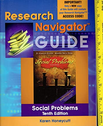 Research Navigator Guide for Social Problems (Valuepack Item only)