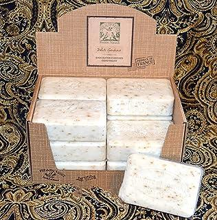 Pre de Provence 250g White Gardenia Shea Butter Enriched Quad Milled Soap, Case of 12 Bars