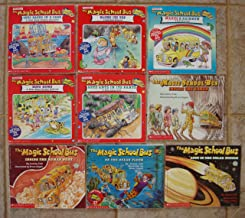 Magic School Bus Set of 9 Picture Books (Makes a Rainbow (Color) ~ Gets Baked in a Cake (Kitchen Chemistry) ~ Blows its Top (Volcanoes) ~ Hops Home (Animal Habitats) ~ Gets Ants in Its Pants (Ants) ~ Inside the Earth ~ Lost in the Solar System ~ On the Ocean Floor ~ Inside the Human Body)