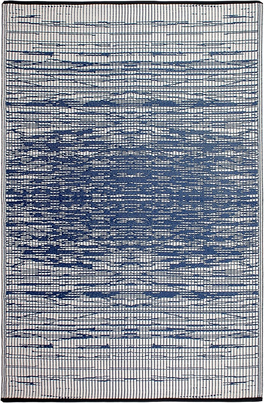 Fab Hab - - - Brooklyn - Blau - Teppich  Matte für den Innen- und Außenbereich (120 cm x 180 cm) B01DUXQ6X8 d71be6