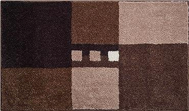 Linea Due Bath Rug, Ultra Soft and Absorbent, Anti Slip, MERKUR, 70x120 cm, Brown